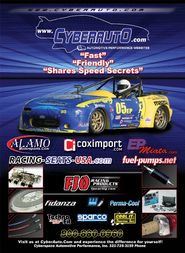CyberAuto Advertisement for 2009 Q1 and Q2