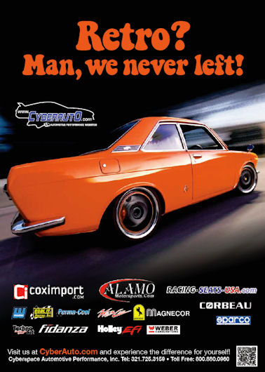 CyberAuto Advertisement for Superstreet Magazine's 2011 Retro Issue